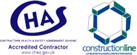CHAS & Construction Line Logos